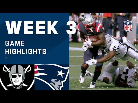 Raiders vs. Patriots Week 3 Highlights   NFL 2020