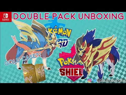 pokemon-sword-and-shield-double-pack-steel-book-edition-#unboxing
