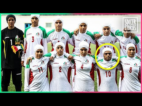 Was Iran's Women's Team Really Playing With Male Players?   Oh My Goal