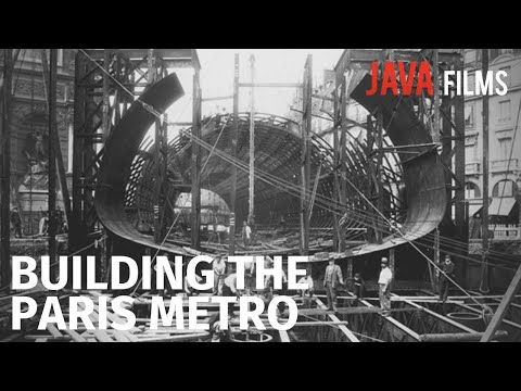 The Birth of the Paris Metro