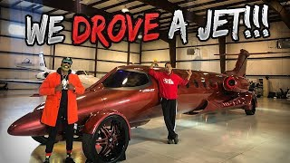 DO WE DRIVE OR FLY THE FIRST EVER LIMOJET!!!?