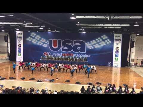Glendale high school USA National champion Co ed dance 2015