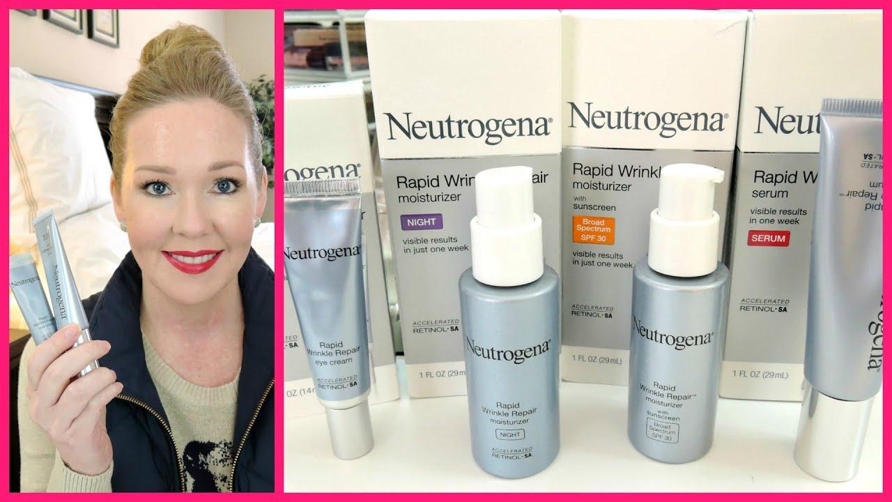 Neutrogena Rapid Wrinkle Repair 7 Day Test