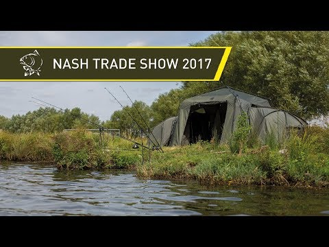 NEW NASH CARP FISHING PRODUCTS! NASH TRADE SHOW 2017!