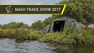 NEW NASH CARP FISHING PRODUCTS! NASH TRADE SHOW 2017! Video