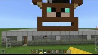 Пиццерия Фрэдди Фазбера. Minecraft FNAF