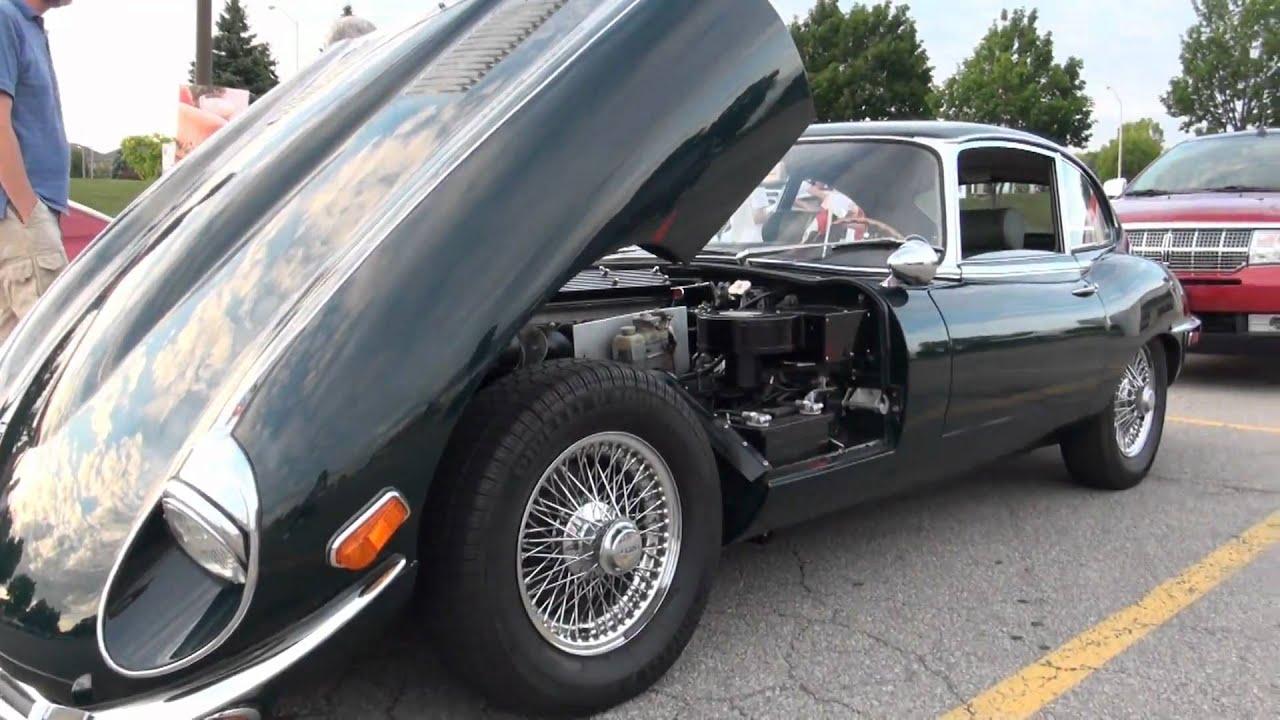 Vintage Jaguar E Type 42 In Details Youtube 1960s Cars