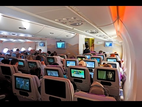 Emirates Economy Class Airbus A380 Flight Review Dubai to Frankfurt