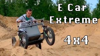 ECar Extreme 4WD. Test drive