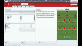 Football Manager 2012   Tactics 4-3-3 With Joe