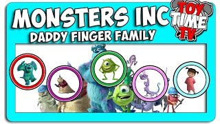 New Monsters Inc Daddy Finger Family Sing-a-Song on Its Toy Time Tv