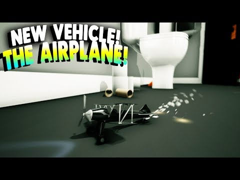 Stunt Toys Game - NEW VEHICLE UNLOCKED! THE AIRPLANE! - Stunt Toys Gameplay and Review
