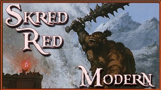 Skred Red vs Abzan Aggro Modern Magic the Gathering