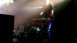 Keyboardist, Janne Warman, of Children of Bodom playing a solo at O...