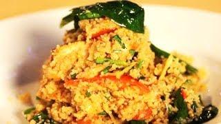Как приготовить салат с кус-кусом и курицей. Рецепт - Основной инстинкт. Выпуск 12