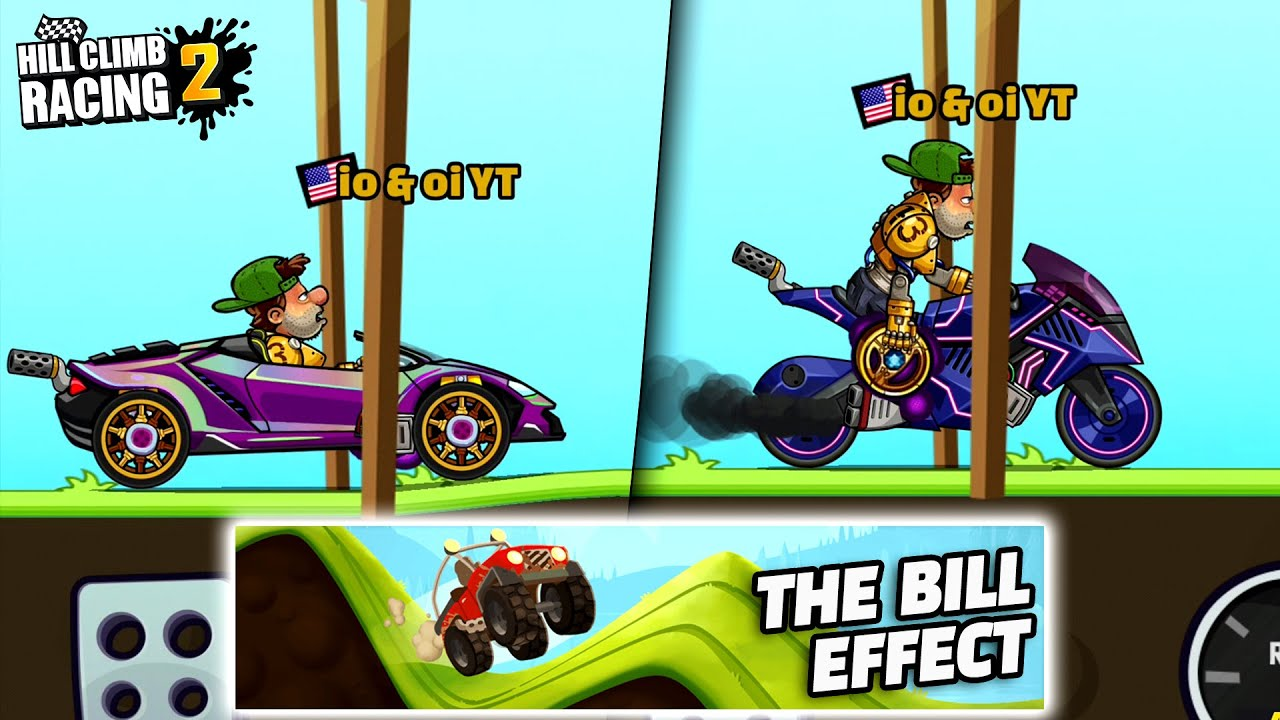 THE BILL EFFECT - Hill Climb Racing 2 GamePlay