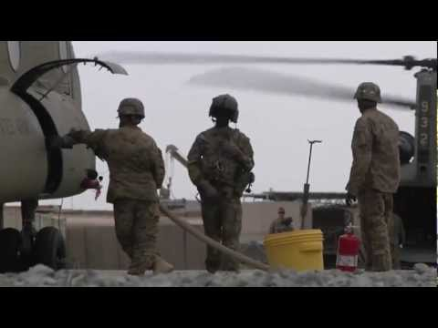 CH-47F Chinook Helicopter Crews in Action Over Afghanistan