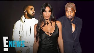 Why Kim Kardashian Defended Kanye in Drake Feud | E! News Video