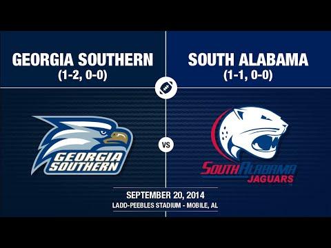 2014 Week 4 - Georgia Southern at South Alabama