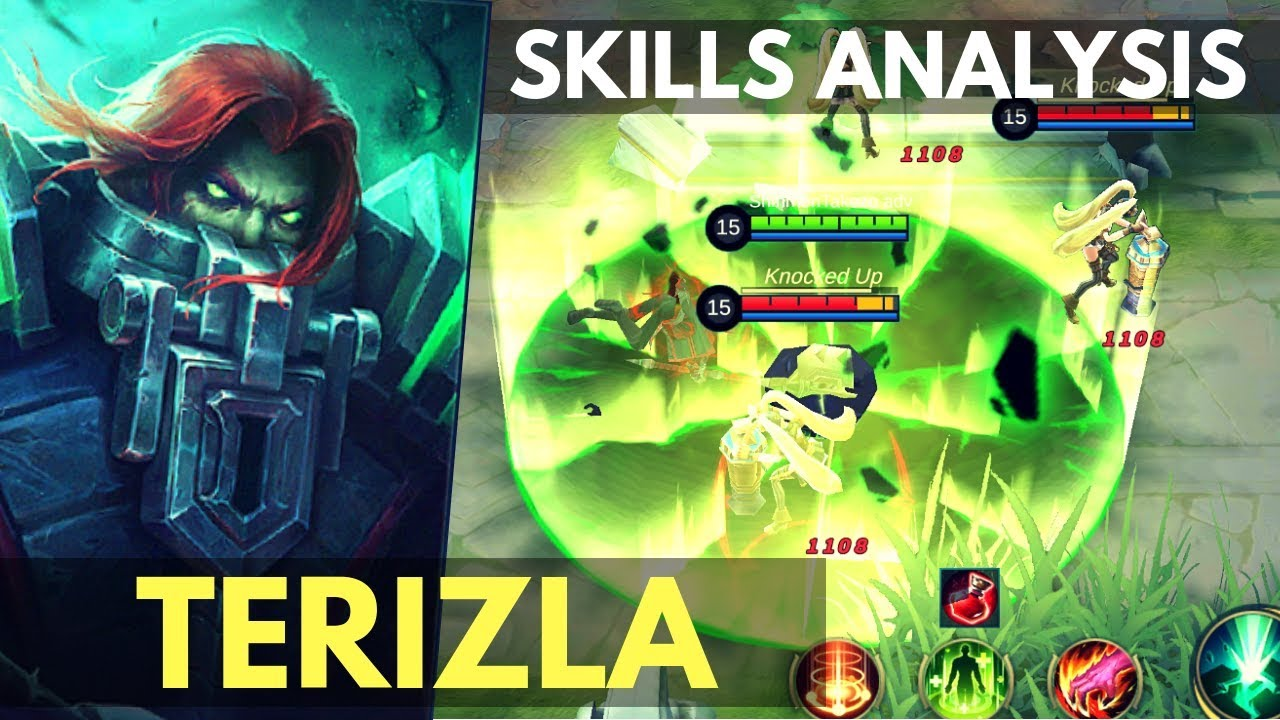 TERIZLA NEW FIGHTER HERO SKILL AND ABILITY ANALYSIS