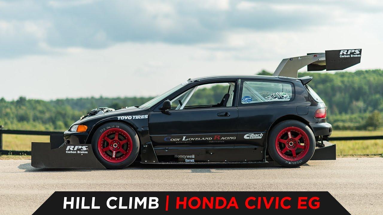 This 1993 Honda Civic Was Built To Climb Mountains