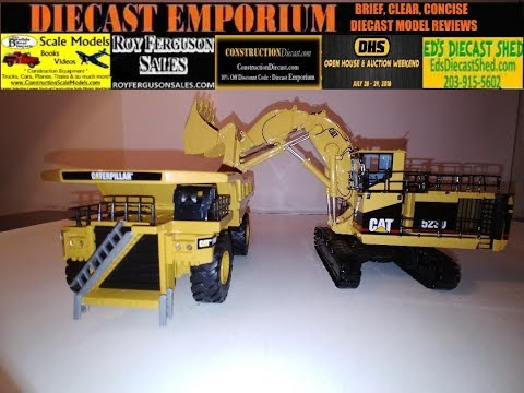 Classic Construction Models (CCM) Cat 5230 Front Shovel