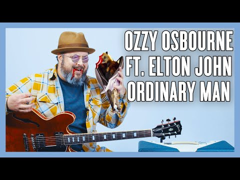 Download  Ozzy Osbourne Ft. Elton John Ordinary Man Guitar Lesson + Tutorial Gratis, download lagu terbaru