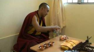 Sungjang Rinpoche - how to make water offering