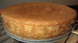 Бисквит в духовке для тортов от Едокоff
