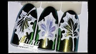 🍁 ПРОСТОЙ дизайн ногтей 🍁 КЛЕНОВЫЙ лист на ногтях 🍁 Дизайн ногтей гель лаком 🍁