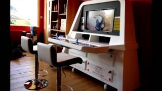 2001  A Space Odyssey Custom Arcade Cabinet B15 Sdm Designs