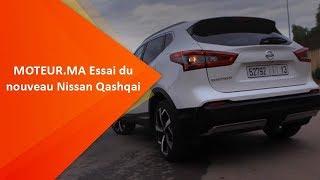MOTEUR.MA - Essai du nouveau Nissan Qashqai