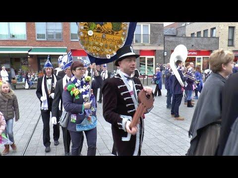 Carnavalsvereniging 'de Meerbonken' ontvangt de sleutel van de Gemeente Haarlemmermeer [video]