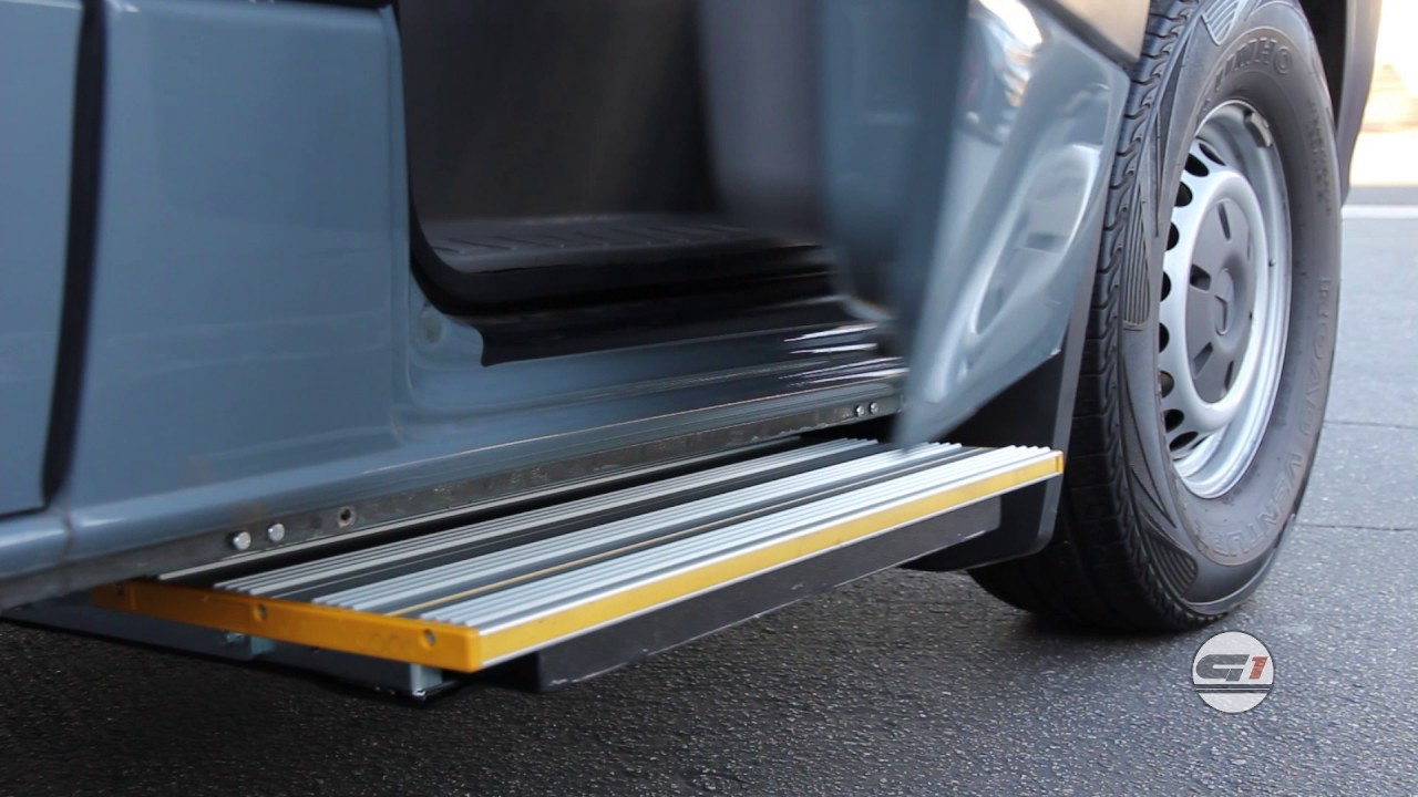 What Is A Mercedes Sprinter Electric Side Step Genesis 1