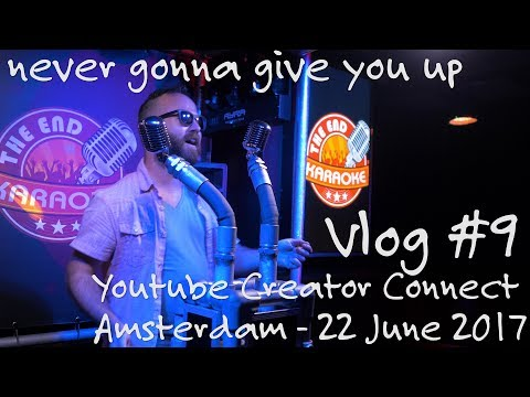 From YOUTUBE Creator Event to Singing Rick Astley in a Karaoke bar, Vlog #9