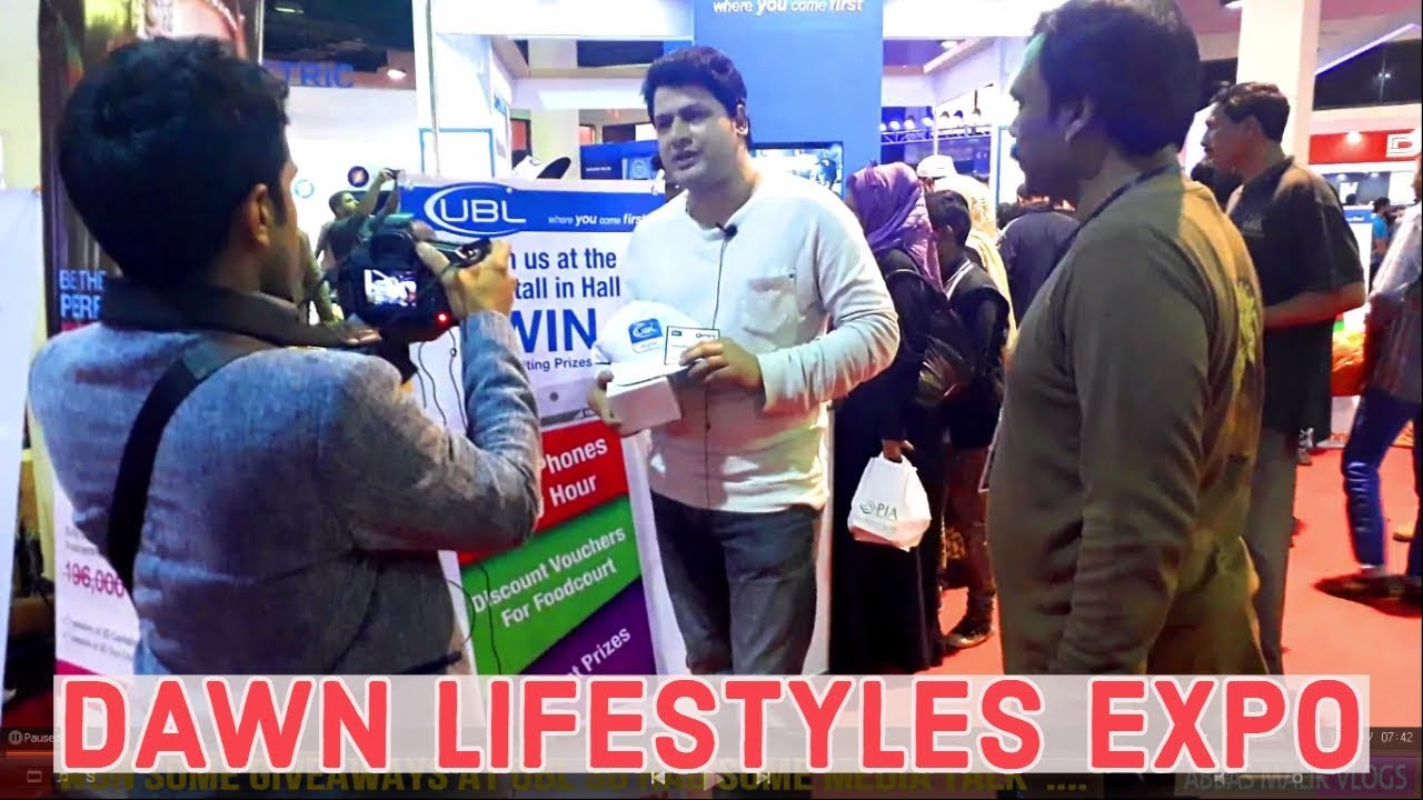 Dawn Lifestyles Expo Karachi - 2019 - YouTube