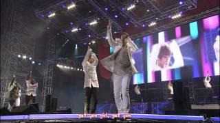 JYJ - Be My Girl remix [eng + karaoke sub]