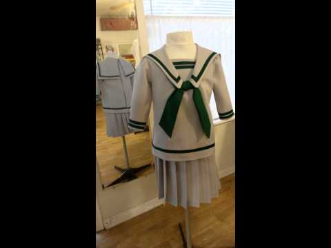 Von Trapp children's uniform from the Sound of Music
