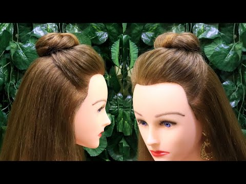 New Hairstyle for western wear   Hairstyle for College Girls   Easy Hairstyles   KGS Hairstyles