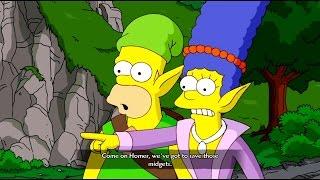 Прохождение The Simpsons Game с переводом часть 12 - Неверквест [HD 1080p]