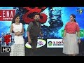 Rashmi Funny Task Dhee 10 27th September 2017 ETV Telugu