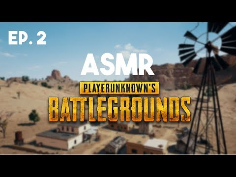 ASMR Gaming: Player Unknown's Battlegrounds (Gum Chewing) [Live Commentary]