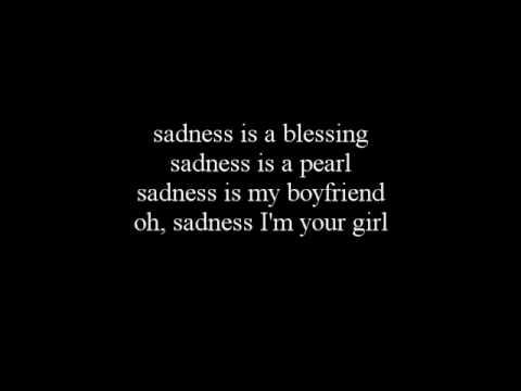 Lykke Li - Sadness Is A Blessing LYRICS