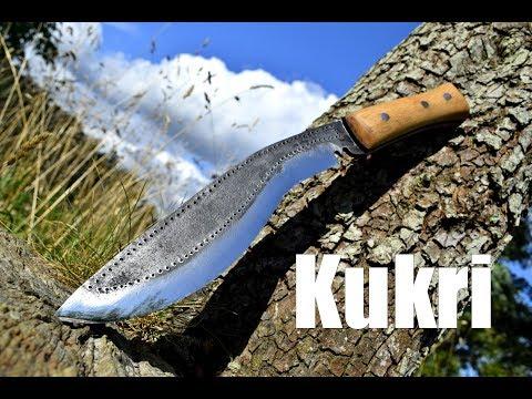 Knife making - Forging a Kukri/Khukuri