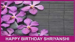 Shriyanshi   Birthday Spa - Happy Birthday