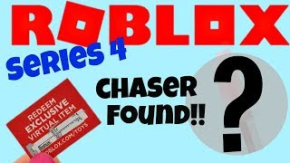 I found a Roblox Chaser Bonus Code in the new Series 4 Toys!