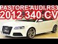 PASTORE Audi RS3 Quattro 2012 Branco aro 19 AT7 2.5 TFSI Turbo 340 cv 46 mkgf 0-100 kmh 4,6 s #Audi