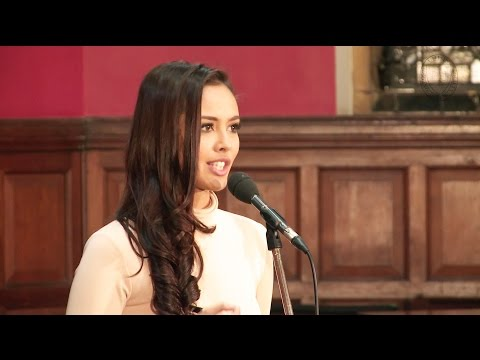 Miss World Contestants 2014 | Oxford Union Address