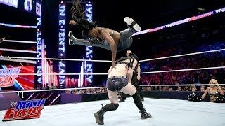 Divas Champions Paige vs. Naomi: WWE Main Event, June 17, 2014