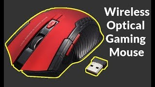 2 4Ghz Wireless Optical Gaming Mouse Mice USB Receiver for PC Laptop